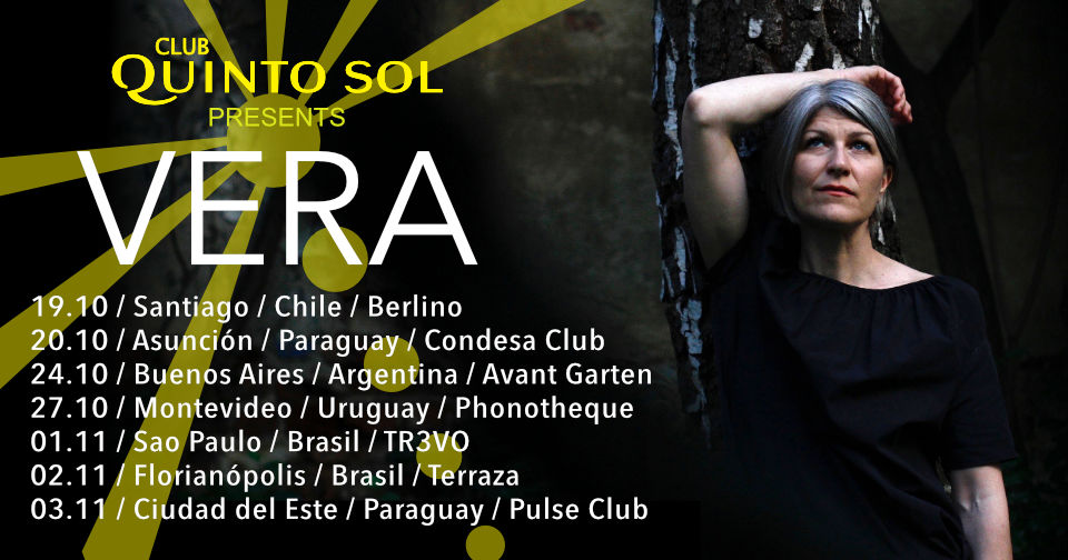 Vera South American Tour 2018