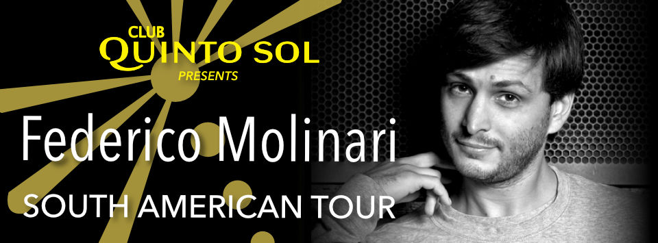 Federico Molinari South American Tour